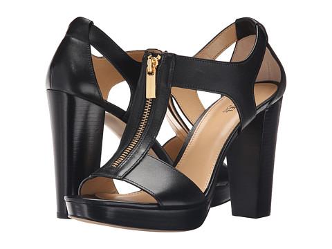 MICHAEL Michael Kors Berkley Sandal - Black Vachetta