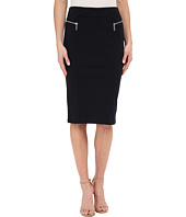 MICHAEL Michael Kors - Zip Pointe Long Pencil Skirt