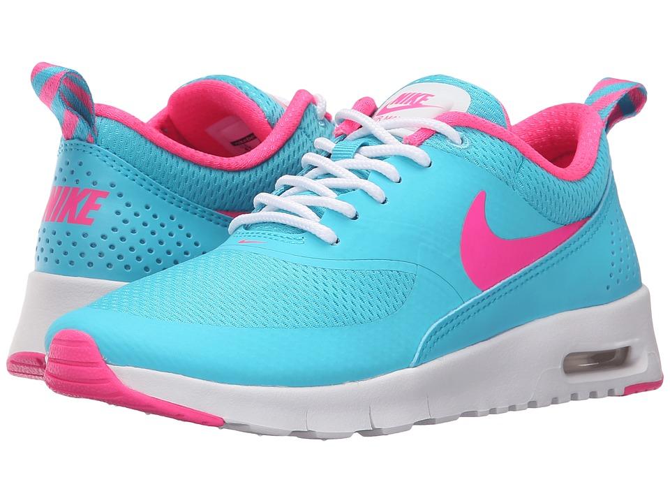 Nike Kids Air Max Thea Big Kid Gamma Blue/White/Pink Blast Girls Shoes