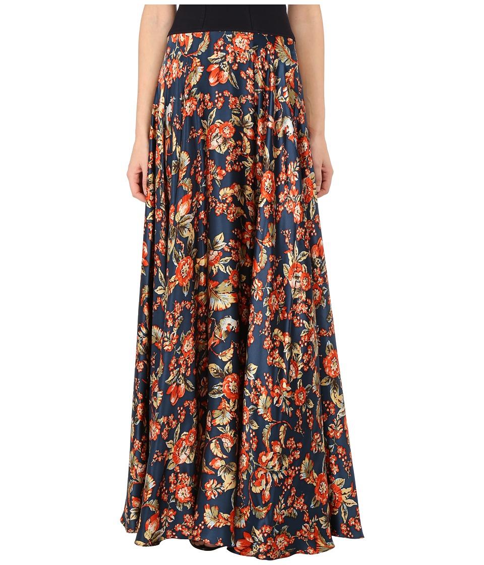 Zac Posen 33 3237 49 Multi Print Womens Dress
