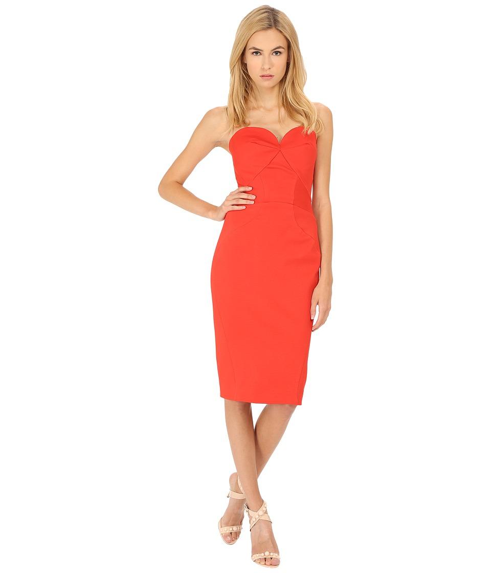 Zac Posen 40 5307 49 Coral Womens Dress