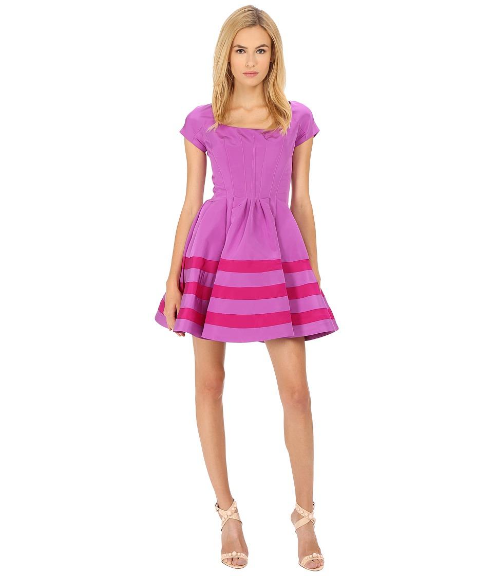 Zac Posen CCL01 5067 49 Parme/Magenta Womens Dress