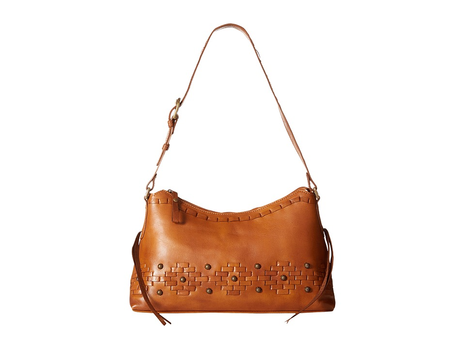 American West - Amber Waves Shoulder Bag (Golden Tan) Shoulder Handbags