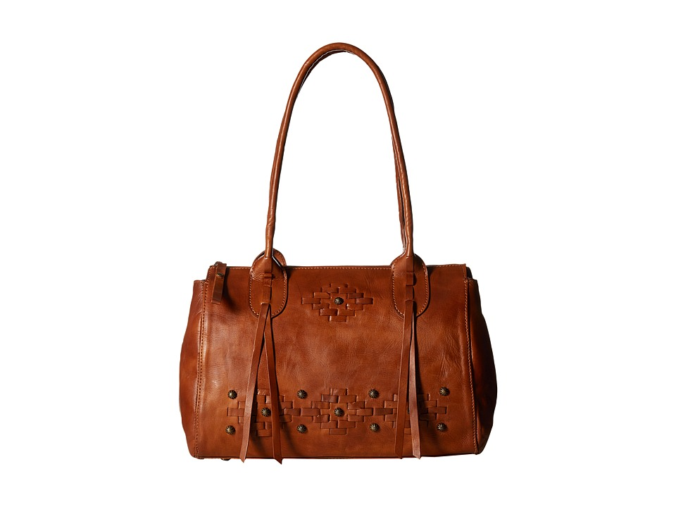 American West - Amber Waves Satchel (Golden Tan) Satchel Handbags