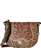 American West - Rosewood Saddle Flap Crossbody