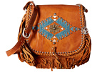 Pueblo Moon Fringe Flap Crossbody