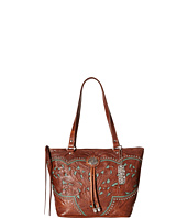 American West - Lady Lace Zip Top Bucket Tote