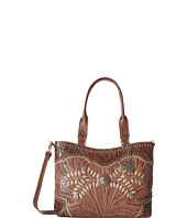 American West - Woodland Bloom Zip Top Convertible Tote
