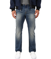 Robert Graham - Double-Up Woven Denim Slim Fit Jeans in Indigo