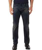 Robert Graham - Snap Back Woven Denim Slim Fit Jeans in Indigo