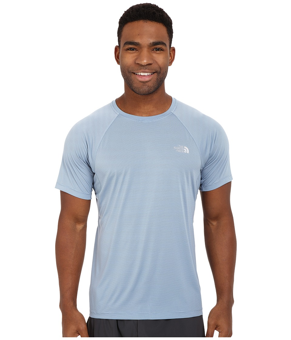 The North Face Better Than Naked Short Sleeve Shirt Faded Denim Mens Short Sleeve Pullover
