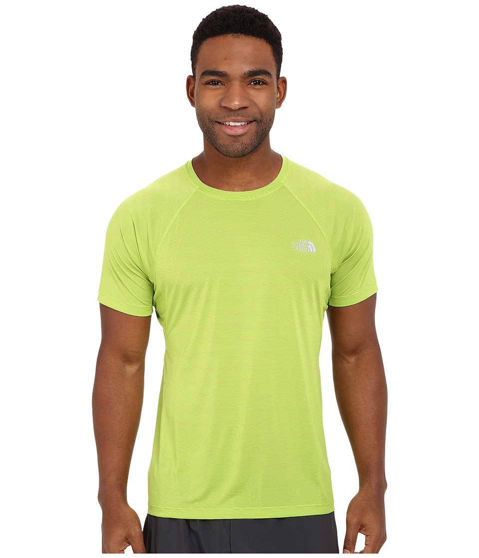 The North Face Better Than Naked Short Sleeve Shirt Macaw Green Mens Short Sleeve Pullover