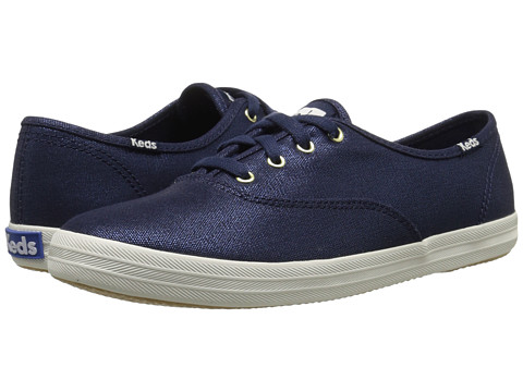 Keds Champion Metallic Canvas - Navy Metallic