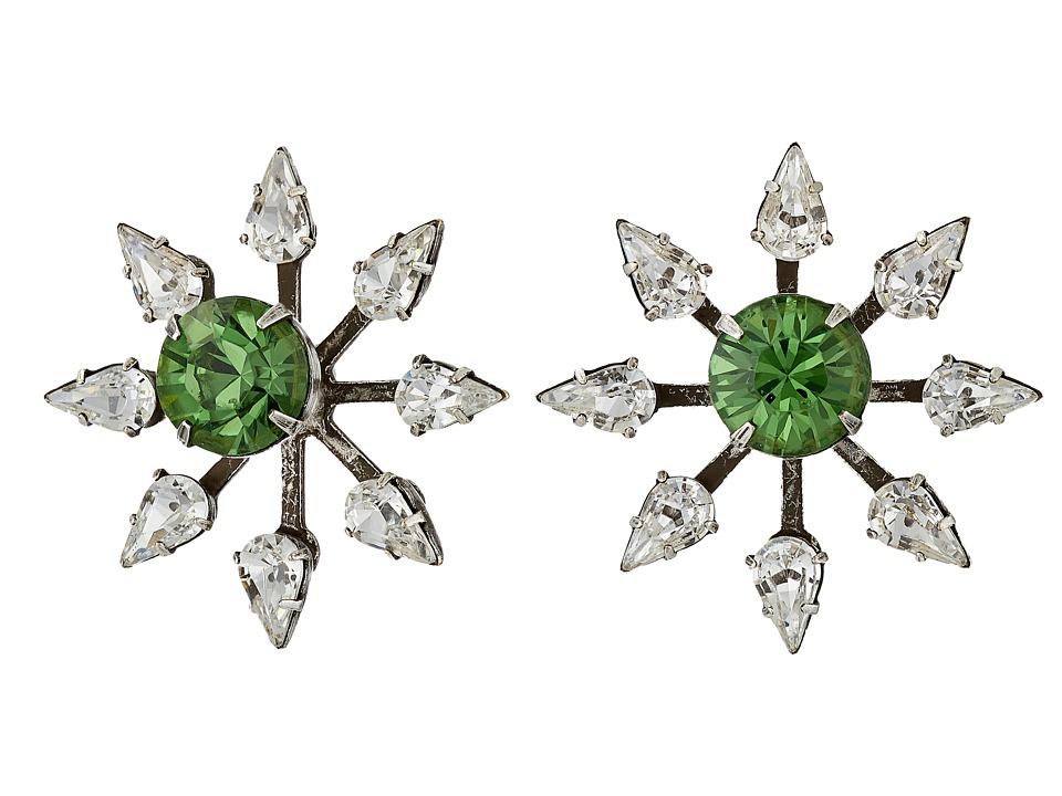 DANNIJO CONSTANTINA Earrings Asst Green Earring