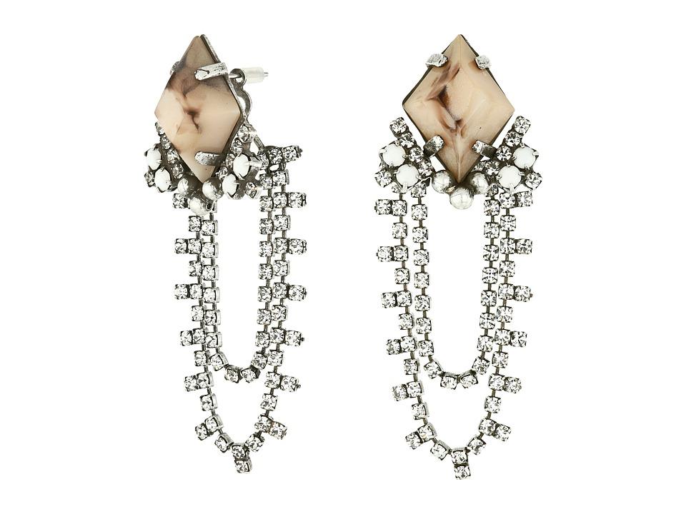 DANNIJO RABAN Earrings White Earring