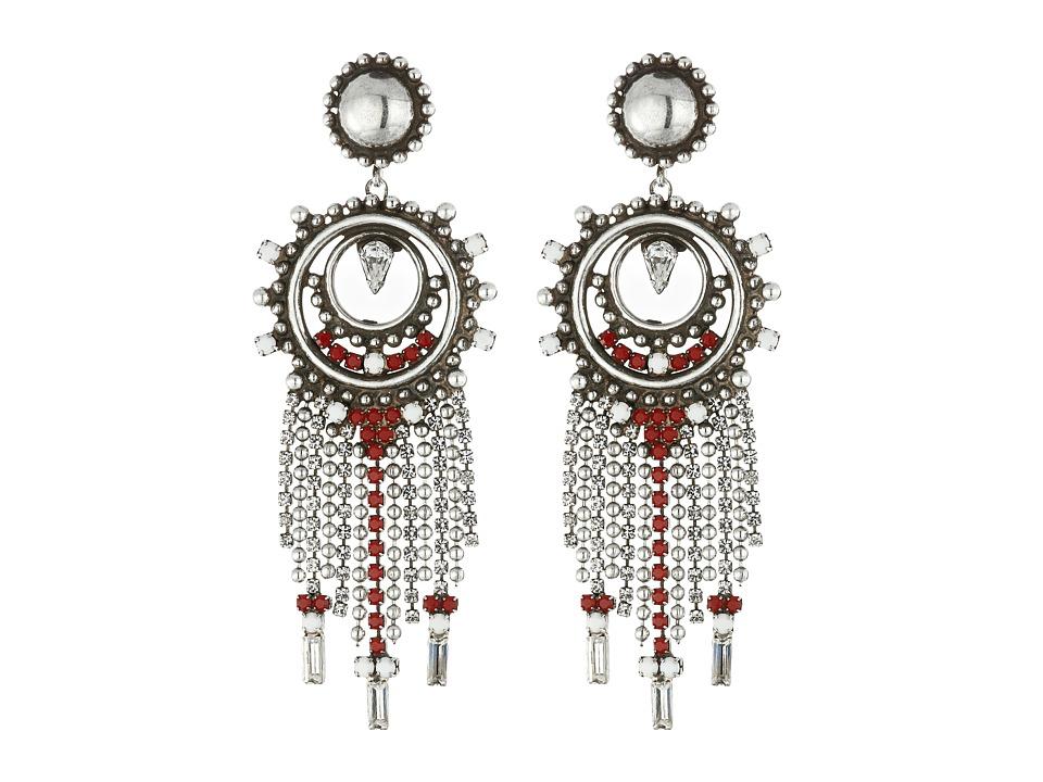 DANNIJO VITULA Earrings Asst Red Earring