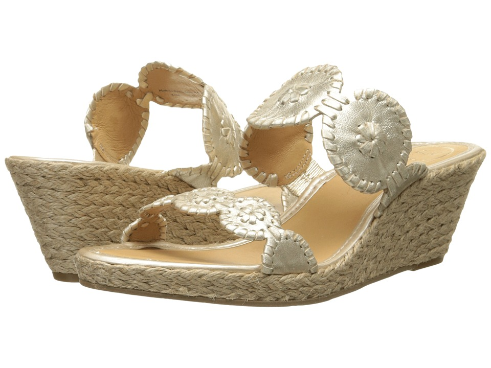 Jack Rogers Shelby (Platinum) Women