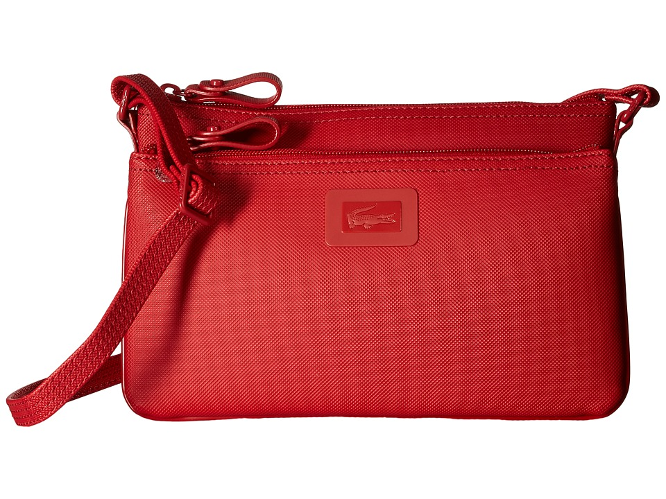 Lacoste - Crossover Bag (Flame Scarlet) Bags