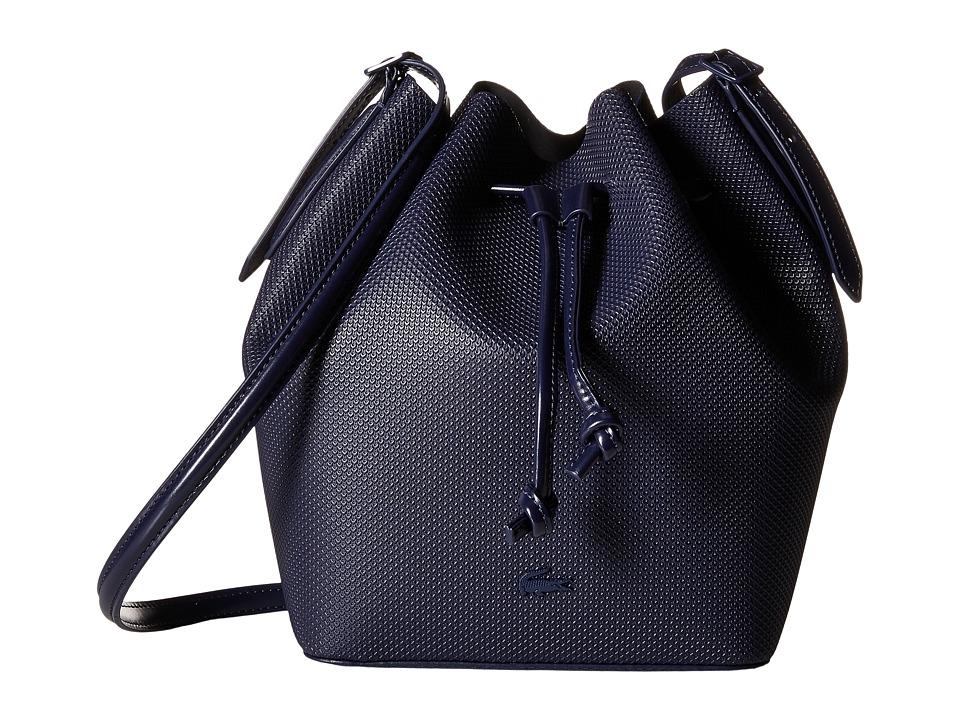 Lacoste - Bucket Bag (Peacoat) Bags