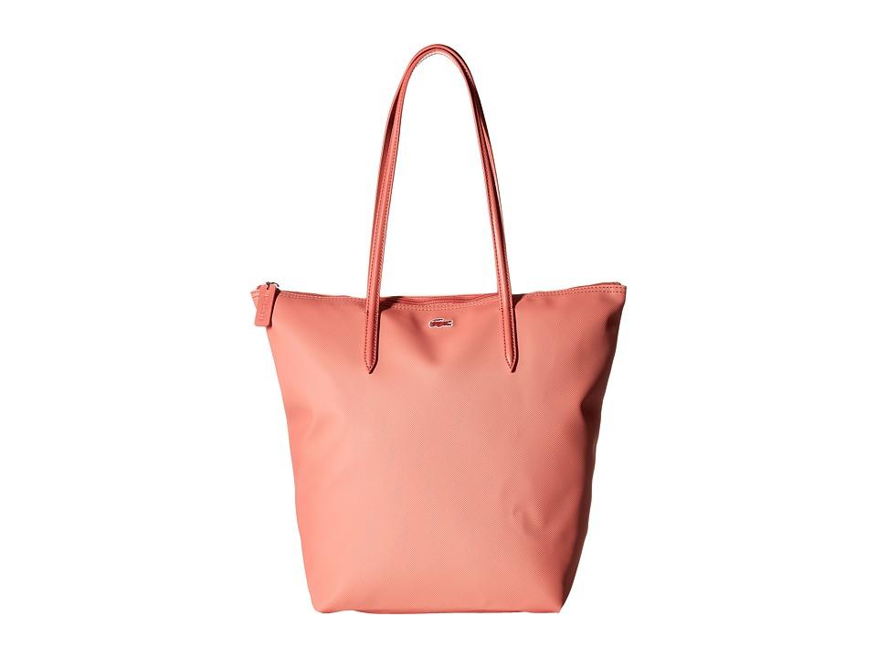 Lacoste - L.12.12 Concept M1 Vertical Tote Bag (Lantana) Tote Handbags