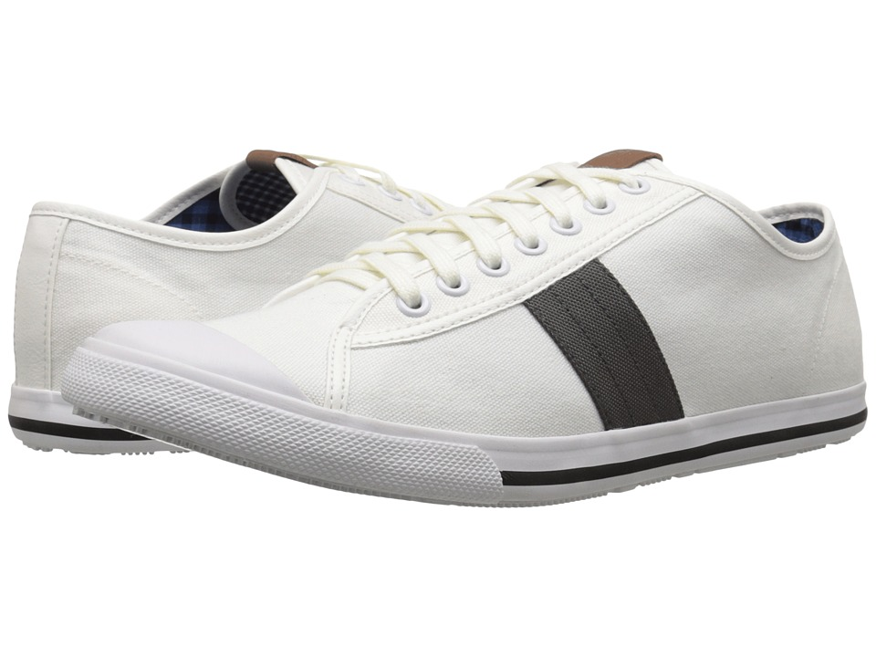 Ben Sherman Eddie Lo Off White Mens Lace up casual Shoes