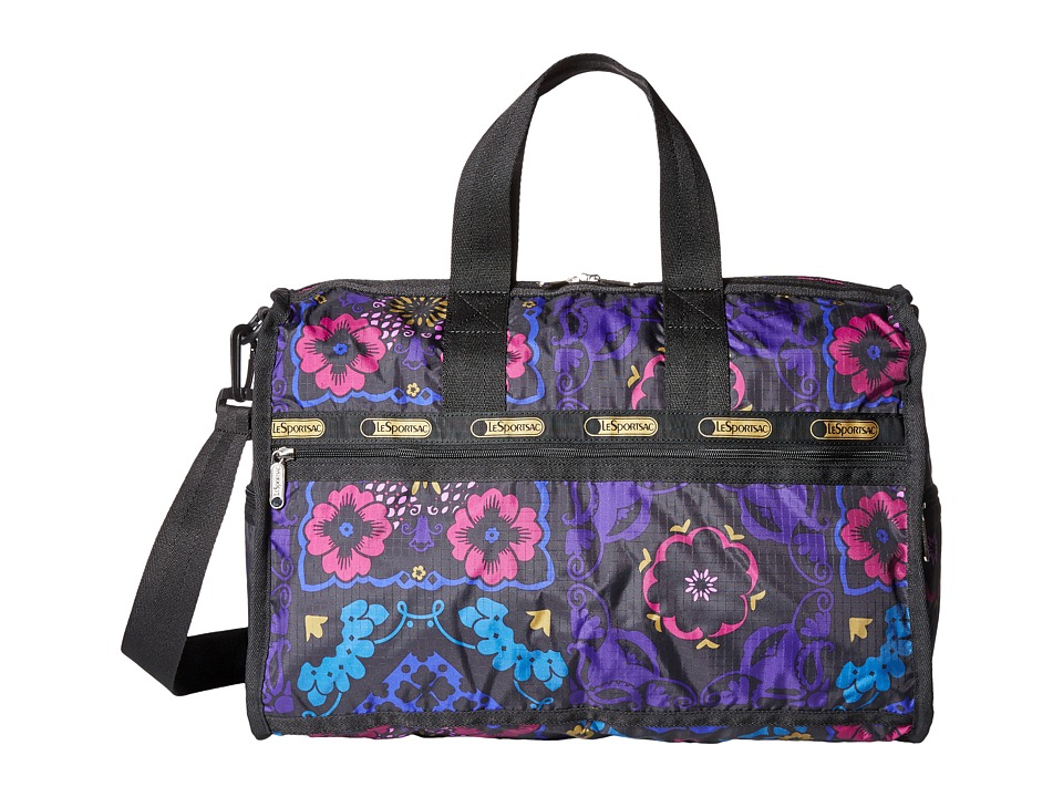 LeSportsac Luggage - Medium Weekender (Midnight Flower Patch) Duffel Bags
