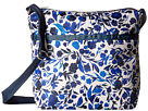 LeSportsac Small Cleo Crossbody Hobo (Blooming Silhouettes)