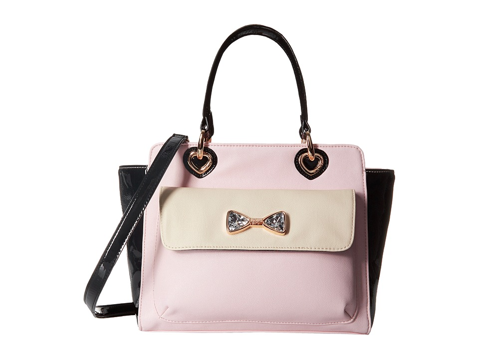 Betsey Johnson - Jewel House Rock Tote (Blush) Satchel Handbags