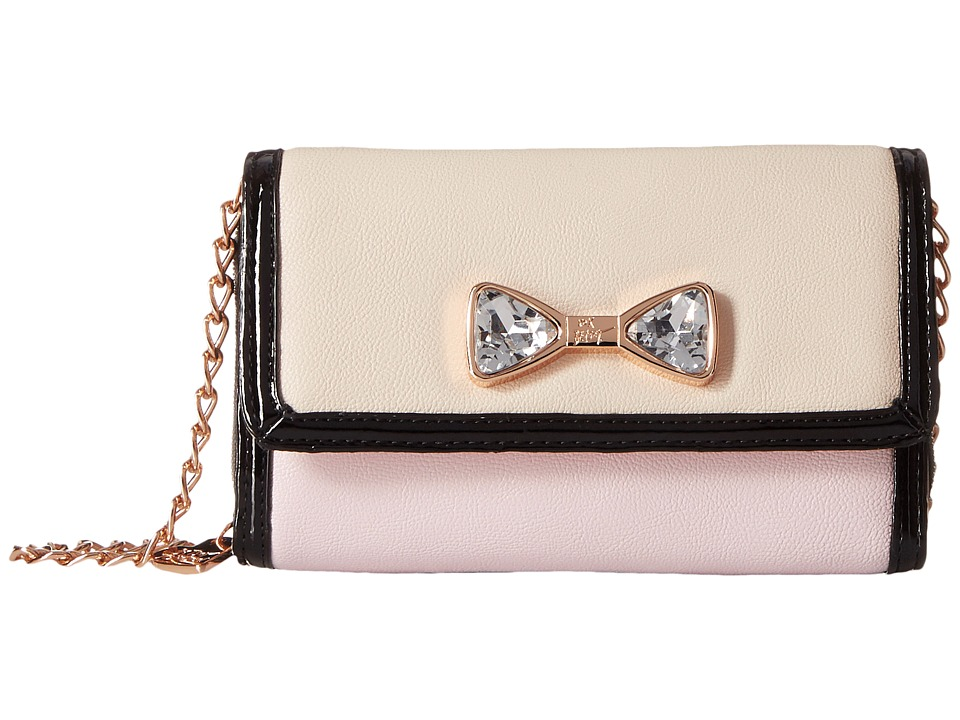 Betsey Johnson - Jewel House Rock Crossbody (Blush) Cross Body Handbags