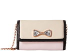 Betsey Johnson Jewel House Rock Crossbody (Blush)