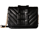 Betsey Johnson Tie Affair Crossbody (Black)