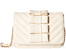 Betsey Johnson Tie Affair Crossbody (Cream)