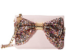 Betsey Johnson Oh Bow Wallet On A String (Blush/Fairy Dust)