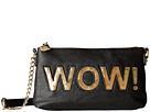Betsey Johnson Kitch Light Up Crossbody Wow (Black)
