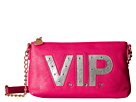 Betsey Johnson Kitch Light Up Crossbody Vip (Fuchsia)