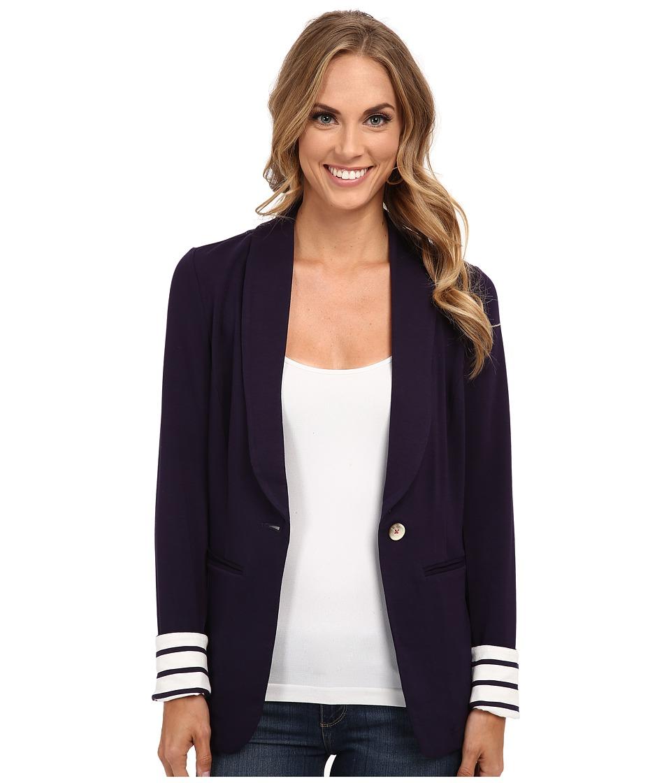 Hatley Blazer Navy/Stripes Womens Jacket