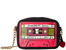 Betsey Johnson Kitch 2 Mixtape Crossbody (Black)