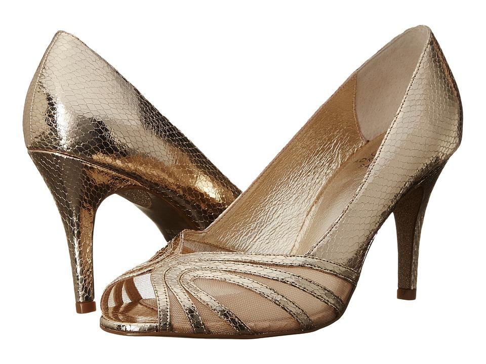 Adrianna Papell Fergie Platino Desert Met/Mesh Womens Shoes
