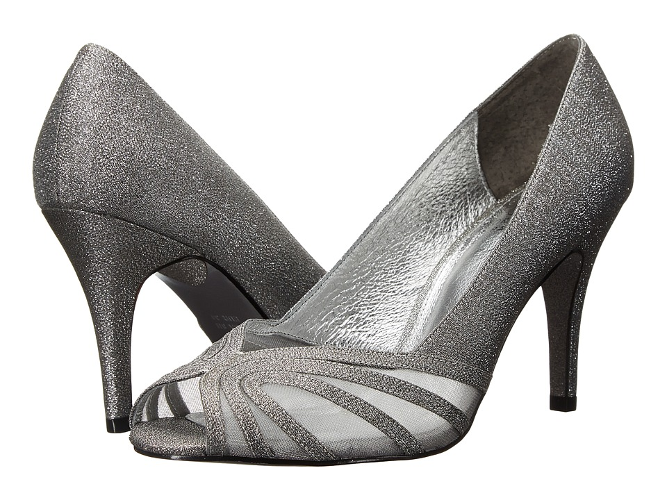 Adrianna Papell Fergie Steel Deco Lame/Mesh Womens Shoes