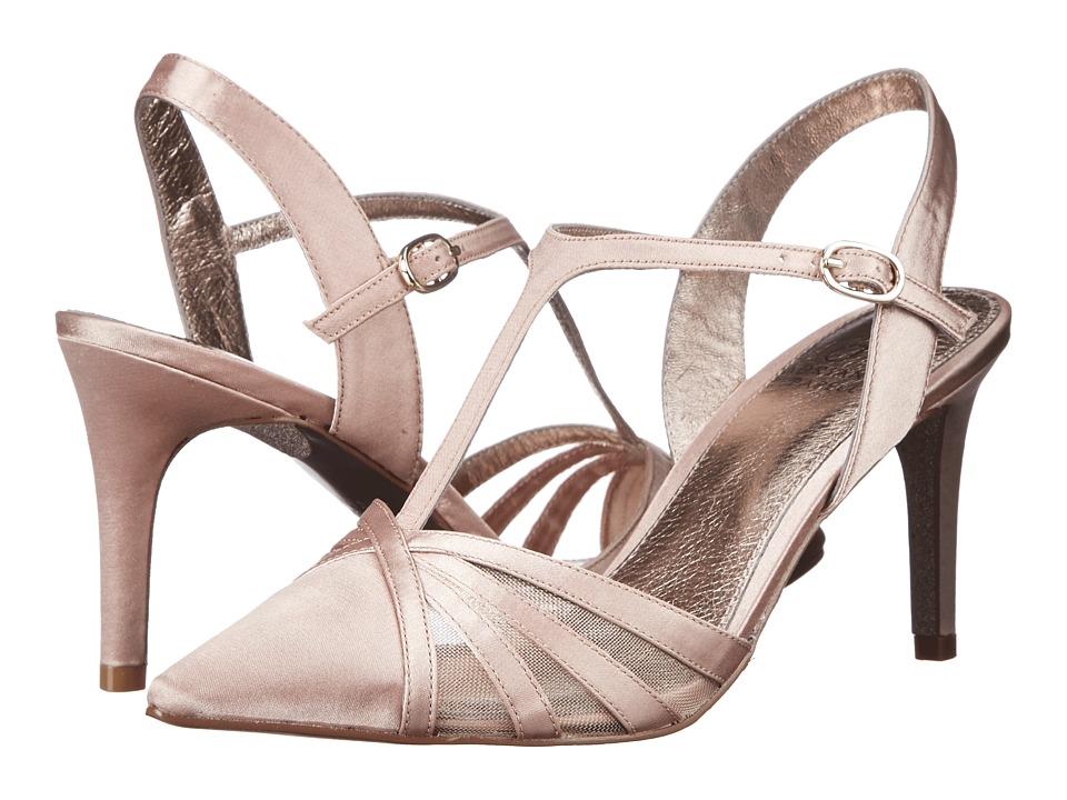 Adrianna Papell Heidi Shea Lux Satin Womens Shoes