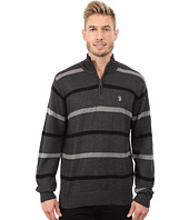 U.S. POLO ASSN. - 1/4 Zip Cotton Sweater