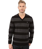 U.S. POLO ASSN. - Stripe V-Neck Sweater