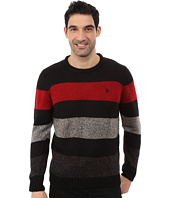 U.S. POLO ASSN. - Crew Neck Stripe Sweater