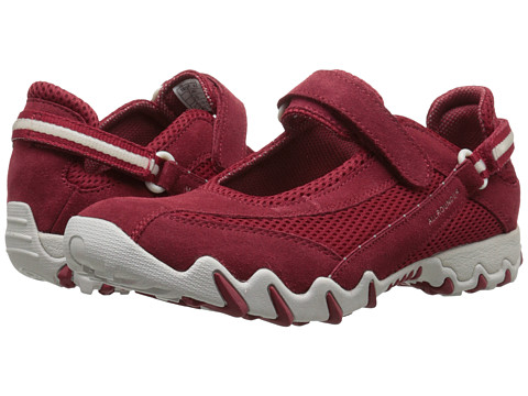 Allrounder by Mephisto Niro - Red Suede/S Mesh