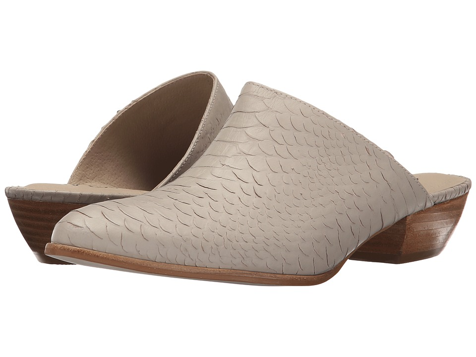 Matisse Clover Ivory Leather Womens Clog Shoes