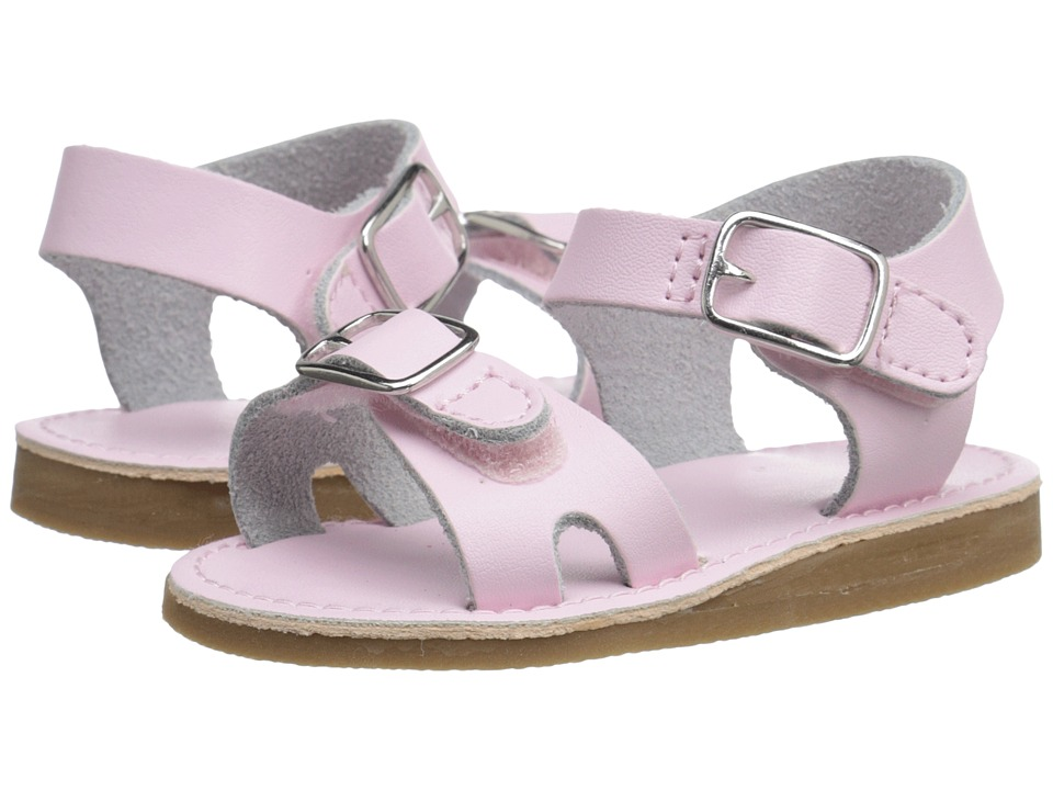 Baby Deer Double Strap Sandal with Buckles Infant/Toddler Pink Girls Shoes