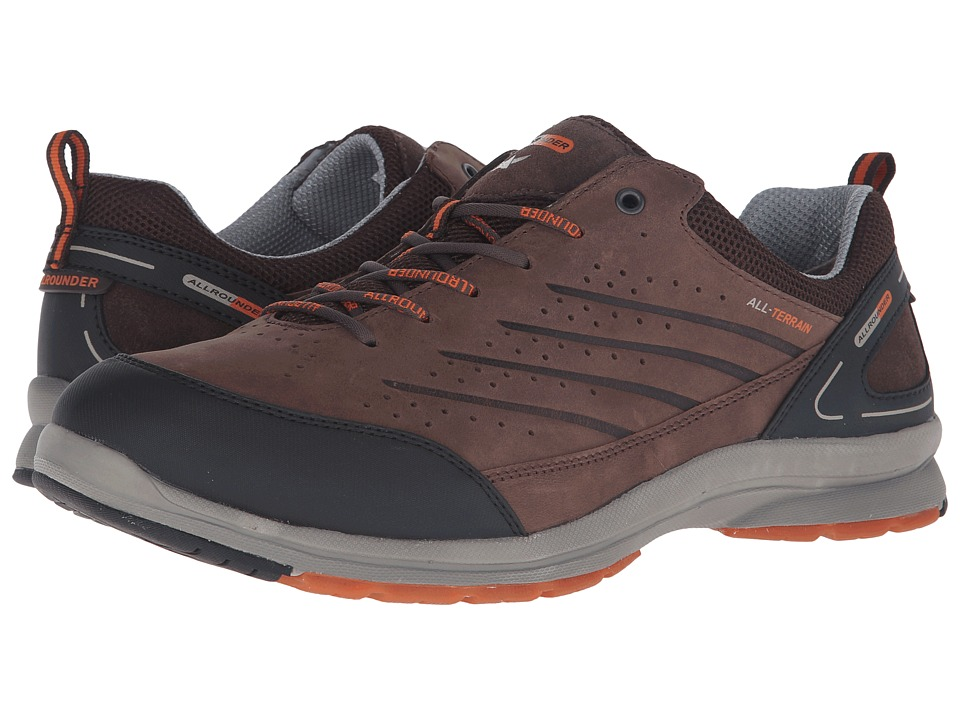 Allrounder by Mephisto Calistro Dark Brown Ori S Mens Lace up casual Shoes