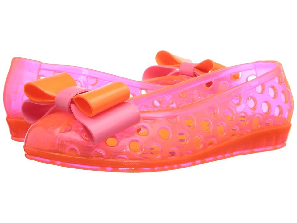 Baby Deer Jelly Ballet Infant/Toddler Orange/Pink Girls Shoes