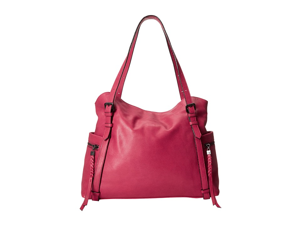 Elliott Lucca - Cammi Fold-Over Tote (Cranberry) Shoulder Handbags