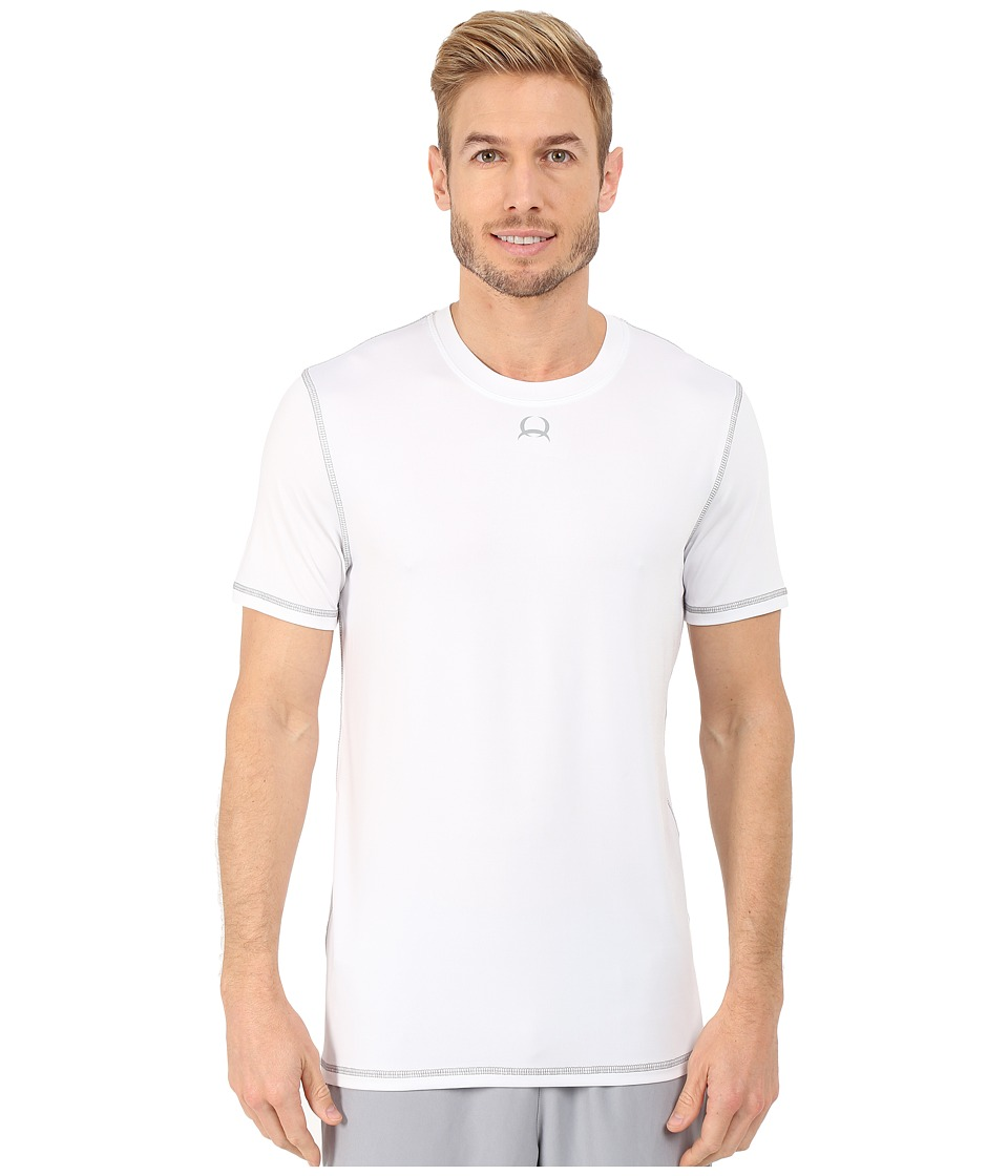 Cinch Athletic Tech Short Sleeve T Shirt White Mens Clothing